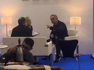 Ferran Adria y Carles Abellan