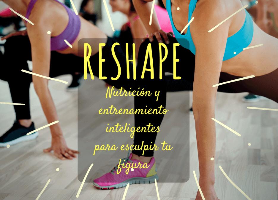 3er Taller de alimentación y ejercicio inteligentes: Reshape!