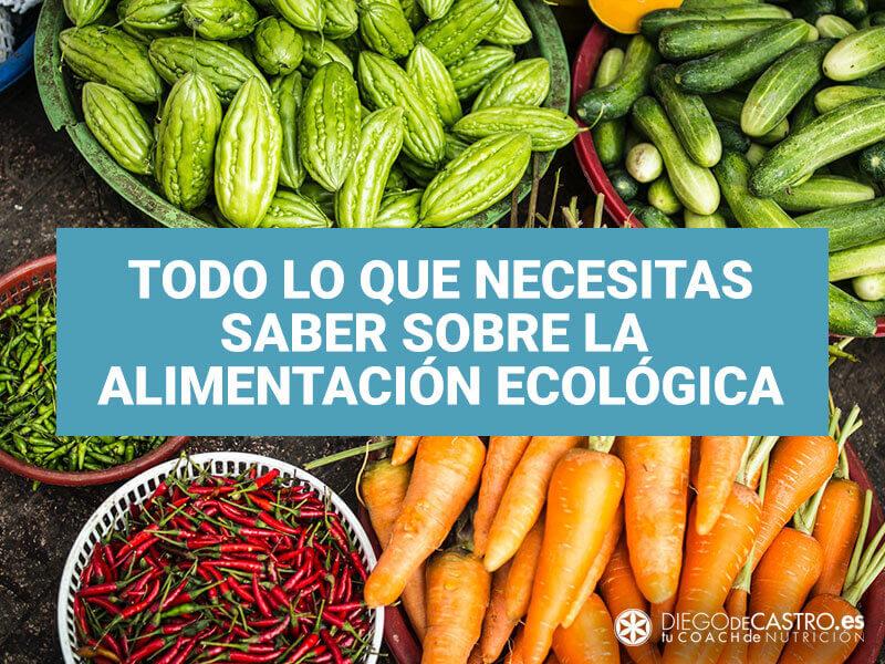 Todo lo que necesitas saber sobre los alimentos ecológicos