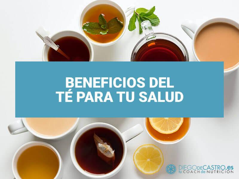 Aprovecha las bondades del té y las infusiones para tu salud