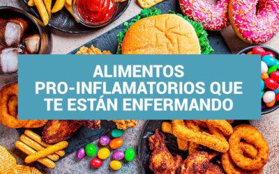 Los 6 peores alimentos pro-inflamatorios que te están enfermando