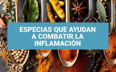Hierbas y especias para combatir la inflamación: ¡Inclúyelas ahora!