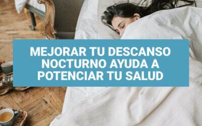 Mejorar tu descanso nocturno ayuda a potenciar tu salud